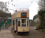 Seaton Tram at Colyton the end of the line
