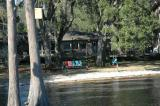 A look at Joe and Betty's house from the dock