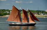 Rust Colored Sails
