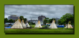 Teepees On The Commons
