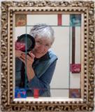 Ann in a favorite family mirror