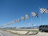Flags flyin