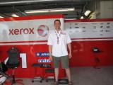 Brad in Xerox Ducati garage