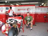 Randy Xerox Ducati garage