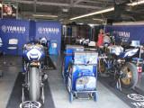 Crutchlow's garage
