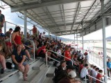 Stands packed for qualifying