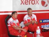 Tardozzi and mechanic