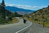 Harleys on the Road, Western Montana