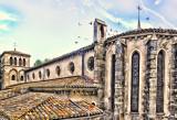 Church with Birds, Carcassonne