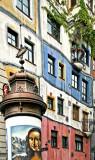 Vienna: Hundertwasser Haus with Mona Cyclops