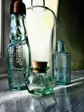 Objets Trouvés #1: Bottles on a Windowsill