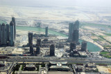 Business Bay with the extention of Dubai Creek