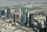 Sheikh Zayed Road aerial photo October 2008 - #169