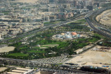 Aerial of Zabeel Park, north half