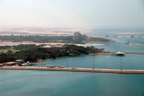 On approach to land by the Jebel Ali Golf Resort and Spa