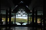 Main lobby of the Shandrani Hotel