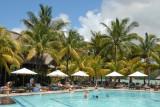 Main pool of the Shandrani Hotel