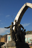 Communist-style monument, Xining