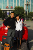 The local guide and driver, Xining
