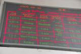 4 trains through Xining for Lhasa today - from Chongqing, Shanghai, Guangzhou and Beijing