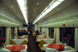 Dining car - Qinghai-Tibet Railroad