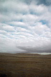 Cloudy day over the Tibetan Plateau