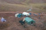 Small labor camp along the Tibet-Qinghai Railroad