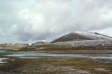 Tibetan plateau along the Qinghai-Tibet border