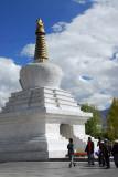 Western chörten, former west gate of Lhasa