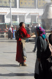 Pilgrim, Barkhor Square