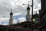 Minarets of the Great Mosque of Lhasa