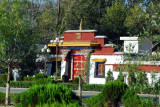 Gate to Norbulingka, the Summer Palace of the Dalai Lamas