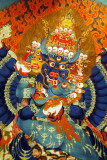 Thangka of Yamantaka