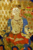 White Tara (silk applique) 15th Century