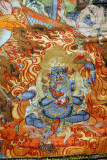 The only female Wrathful Guardian, Palden Lhamo (Shri Devi)