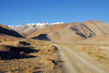 The origial road to Everest Base Camp from Old Tingri