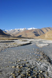 Stream flowing down from the high Himalaya