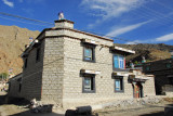 Sturdy house in old town Tsetang