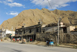 Kongbu Lam (Yangochou Lam on the LP map)  the main street leading out of Tsetang to the east, marks the north end of Old Town