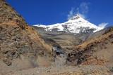 Mt Nojin Kangtsang from around 2 km west of Karo-la Pass