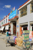 Shops overflowing with goods, Gyantse