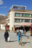 The middle of Gyantse