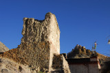 Ruins of a tower in old town Gyantse