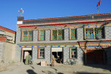 New house in old style, Yingxiong Beilu, Gyantse