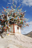 Village shrine, Gyantse