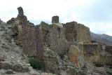 14th Century ruins of the castle of Tsechen Dzong