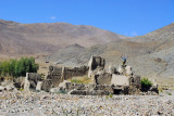 Ruins along the road to Sakya Monastery