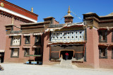 Phuntsok Ling on the north side of the eastern courtyard, Sakya Monastery