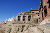 Monastery at north Sakya (not the ancient one founded in 1073)