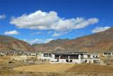 Village between Sakya and the Friendship Highway